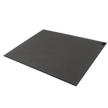 Fond de hotte verre Noir mat délice H.65 cm x L.90 cm