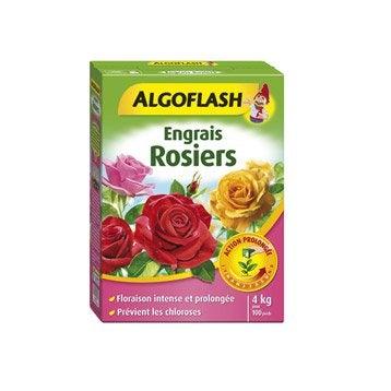Engrais rosiers ALGOFLASH 4kg 25 m²