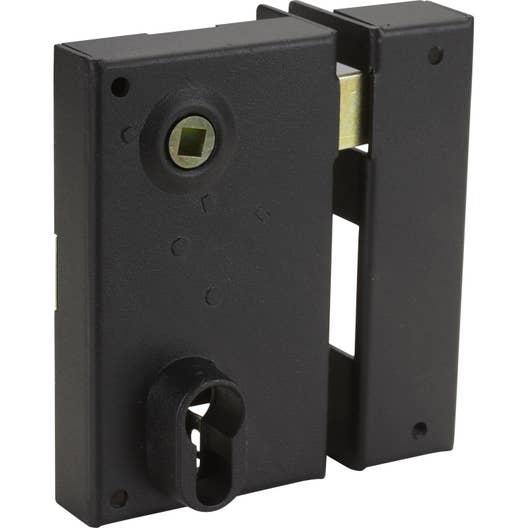 Serrure en applique THIRARD, axe 45 mm, à poignée, ouverture à ...