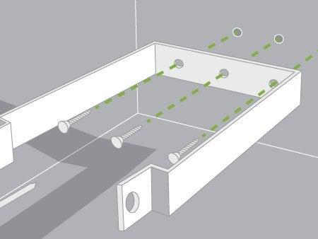 Comment brancher un projecteur avec un d tecteur de mouvements leroy merlin - Fixer un luminaire au plafond ...