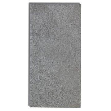 Faïence mur gris moyen, Astuce l.10 x L.20 cm