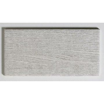 Faïence mur gris clair, Astuce l.10 x L.20 cm