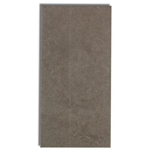 carrelage mural astuce en fa ence beige fonc 10 x 20 cm leroy merlin. Black Bedroom Furniture Sets. Home Design Ideas