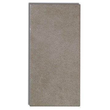 Faïence mur beige moyen, Astuce l.10 x L.20 cm