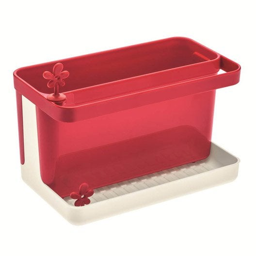Bac rangement vier plastique rouge rouge n 3 leroy merlin - Resultat bac pro cuisine ...