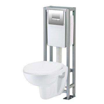 wc suspendu wc abattant et lave mains toilette. Black Bedroom Furniture Sets. Home Design Ideas