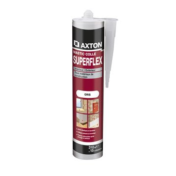 Mastic AXTON Superflex 310 ml gris