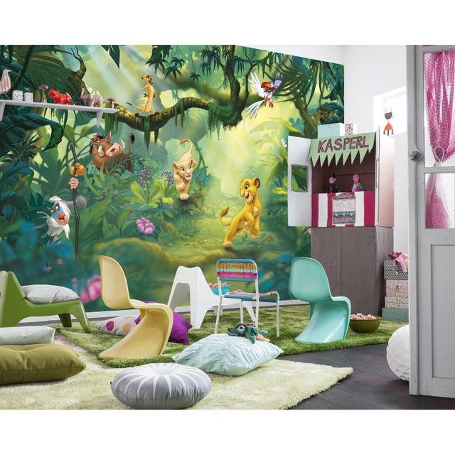Photo Murale Livre De La Jungle Multicolore Papier Komar L 368 X H 254 Cm