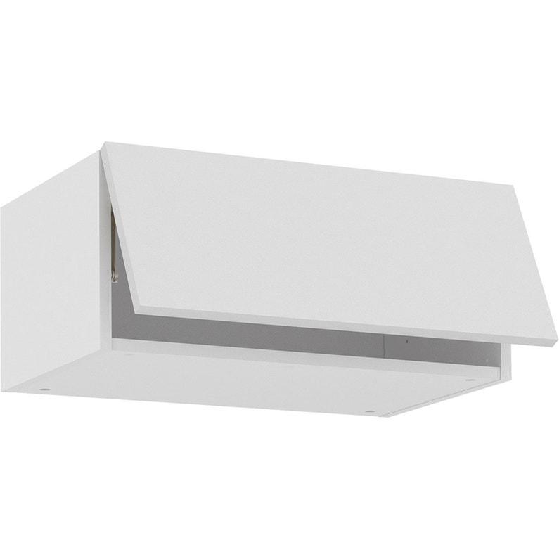 Meuble haut de cuisine Sofia blanc, 1 porte H.26 l.60 cm x ...