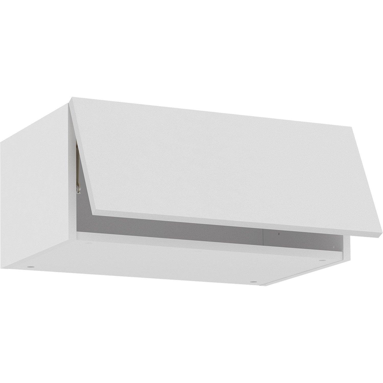 Meuble haut de cuisine Sofia blanc, 15 porte H15xl15