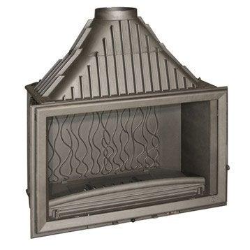 Foyer à bois façade droite INVICTA 6290-44 18 kW