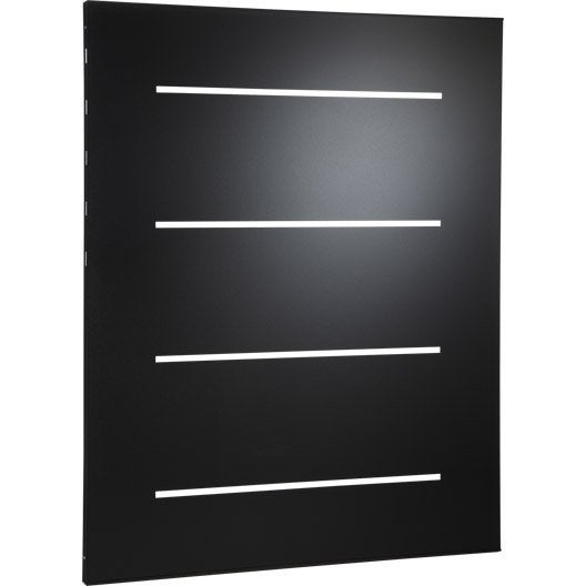 plaque de protection murale noir horizon cm leroy merlin. Black Bedroom Furniture Sets. Home Design Ideas