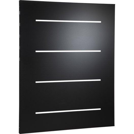 plaque de protection murale noir horizon cm leroy merlin. Black Bedroom Furniture Sets. Home Design Ideas