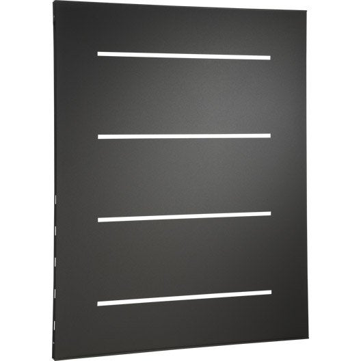 plaque de protection murale horizon gris cm. Black Bedroom Furniture Sets. Home Design Ideas