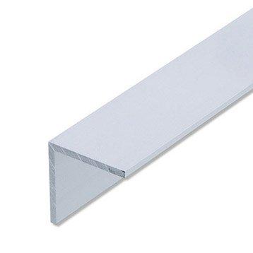 Cornière égale aluminium anodisé, L.2 m x l.2.5 cm x H.2.5 cm