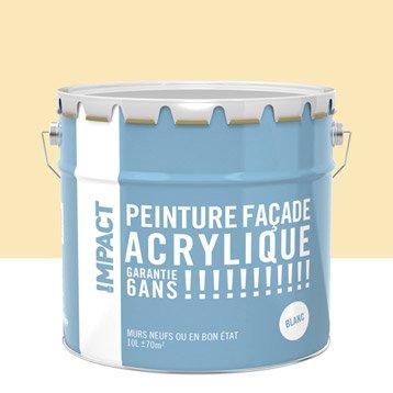 Peinture façade Acrylique IMPACT, ton pierre, 10 l