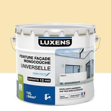 Peinture façade Universelle LUXENS, ton pierre, 10 l