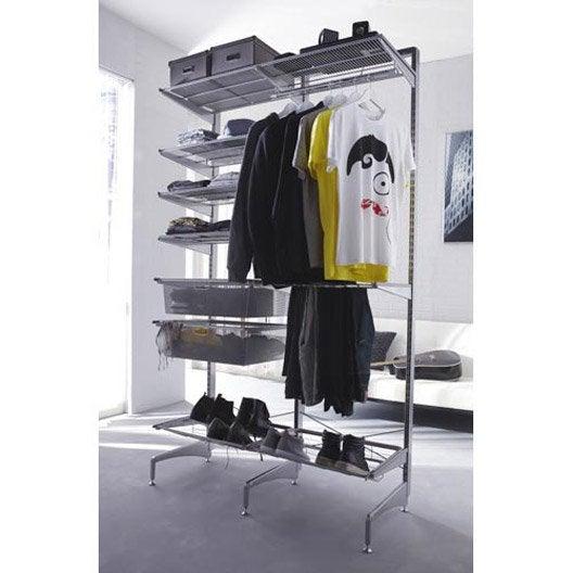 rangement placard elfa. Black Bedroom Furniture Sets. Home Design Ideas