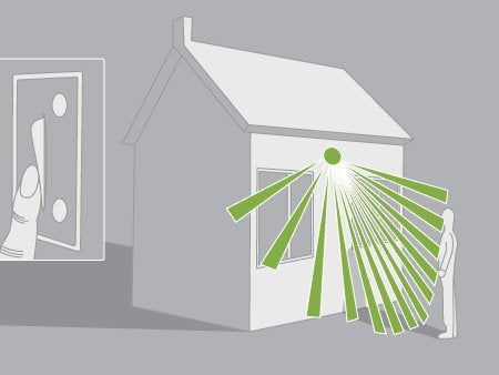 comment brancher un projecteur avec un d tecteur de mouvements leroy merlin. Black Bedroom Furniture Sets. Home Design Ideas
