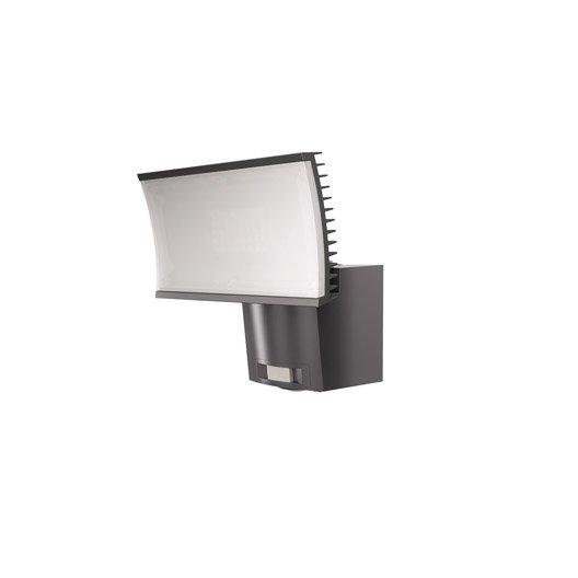 projecteur fixer d tection ext rieur led int gr e 23 w 1600 lm gris osram leroy merlin. Black Bedroom Furniture Sets. Home Design Ideas