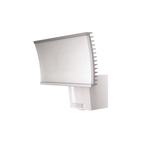 projecteur fixer d tection ext rieur noxlite led int gr e blanc osram leroy merlin. Black Bedroom Furniture Sets. Home Design Ideas
