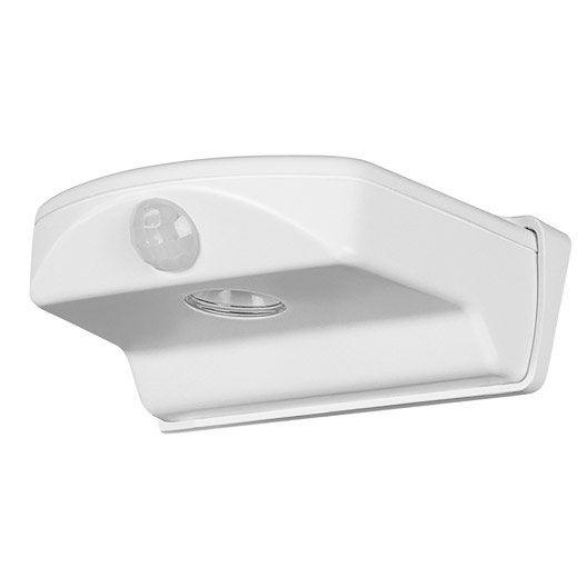applique d tection ext rieure doorled led int gr e blanc. Black Bedroom Furniture Sets. Home Design Ideas
