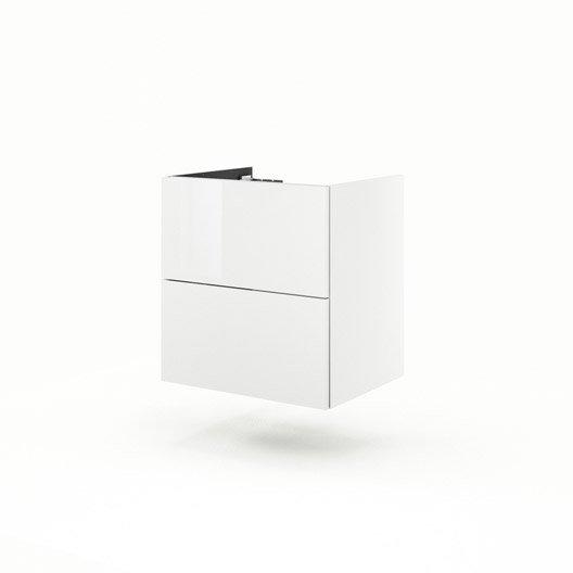 meuble sous vasque x x cm blanc neo line. Black Bedroom Furniture Sets. Home Design Ideas