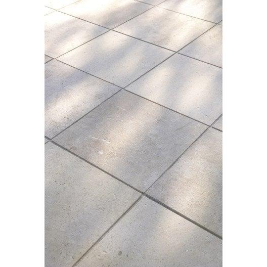 Dalle pierre de bourgonne, beige, Ep.20 mm x L.30 x l.30 cm