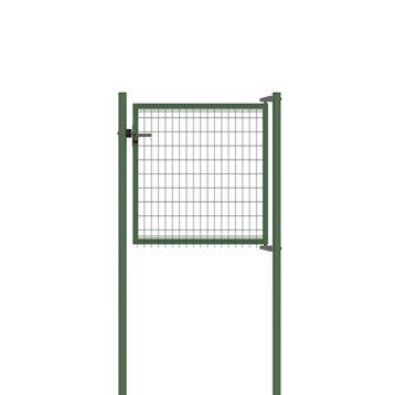 Portillon Soudé Bekafor classic vert H.1.03 x L.1.17m, maille 100x50mm