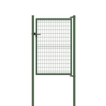 Portillon Soudé Bekafor classic vert H.1.53 x L.1.17m, maille 100x50mm