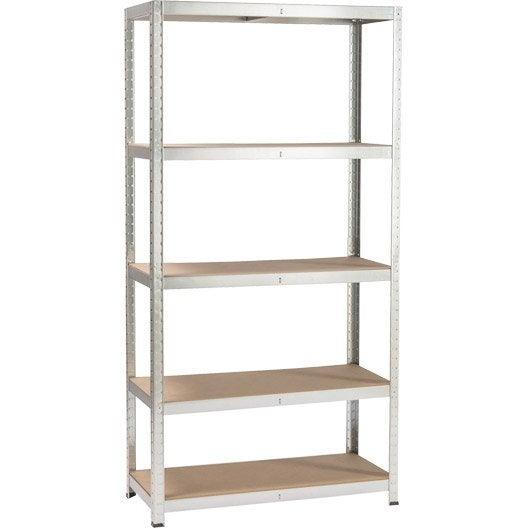 Etag re et armoire utilitaire armoire m tallique for Leroy merlin scaffali