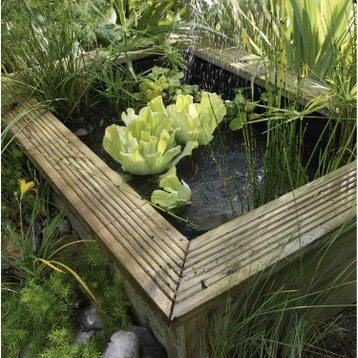 Bassin et bâche pour bassin de jardin au meilleur prix | Leroy Merlin