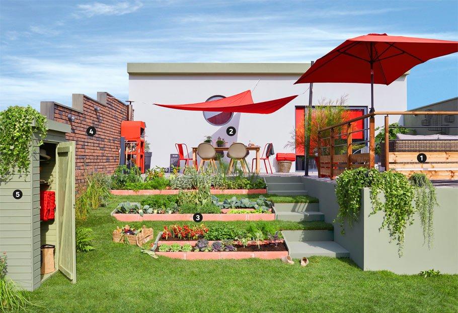 Aménager un jardin en pente | Leroy Merlin