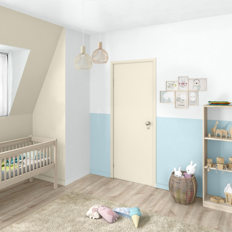 Peinture Mur Boiserie Radiateur Toutes Pièces Multisupports Luxens Blanc Mat