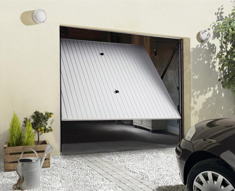 Porte De Garage Basculante Manuelle Non Débordante H200 X L237 Cm