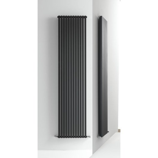 radiateur chauffage central quad anthracite cm 1192 w leroy merlin. Black Bedroom Furniture Sets. Home Design Ideas