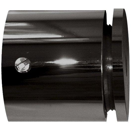 Naissance tringle rideau classic chic nickel noir 20 mm - Tringle a rideau noir ...