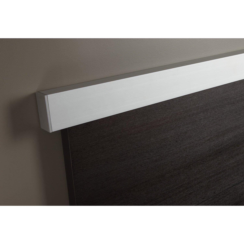 rail coulissant et habillage swing pour 2 portes pour. Black Bedroom Furniture Sets. Home Design Ideas