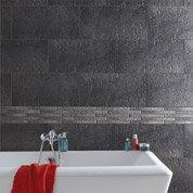 carrelage sol et mur anthracite vestige x cm leroy merlin. Black Bedroom Furniture Sets. Home Design Ideas
