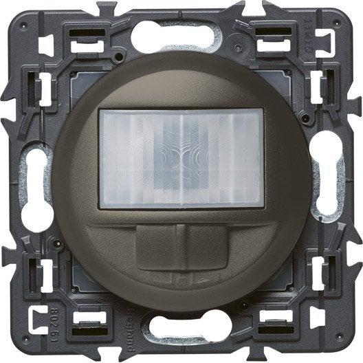 interrupteur automatique c liane legrand gris anthracite leroy merlin. Black Bedroom Furniture Sets. Home Design Ideas