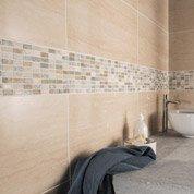 Faïence mur travertino, Modena l.31.6 x L.63.2 cm