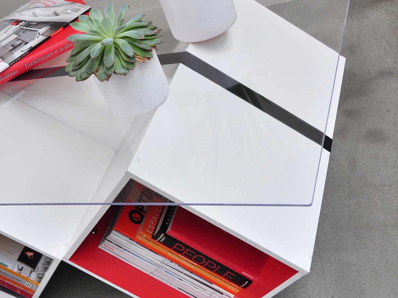 DIY  Créer une table basse en verre avec rangements  Leroy Merlin -> Table Basse Leroy Merlin En Verre