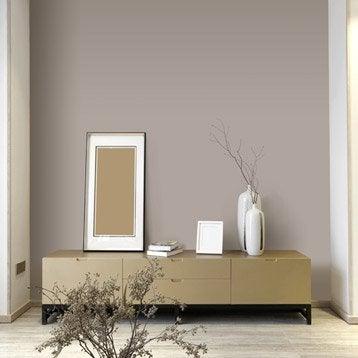 Papier peint intissé Paillette gris-gris n°4