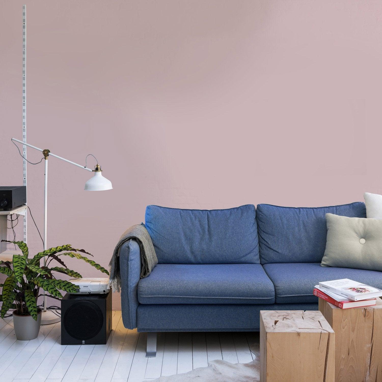 Papier peint intissé Paillette rose blush