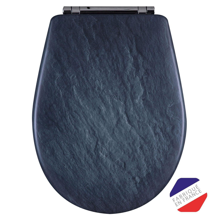 abattant frein de chute d clipsable ardoise bois r ticul olfa woodclip leroy merlin. Black Bedroom Furniture Sets. Home Design Ideas