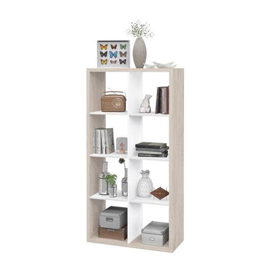 etag re 8 cases multikaz blanc x x. Black Bedroom Furniture Sets. Home Design Ideas