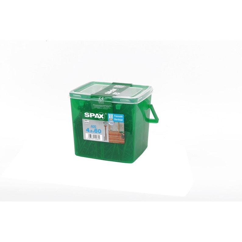 Boîte De 400 Vis 45x60mm Gris