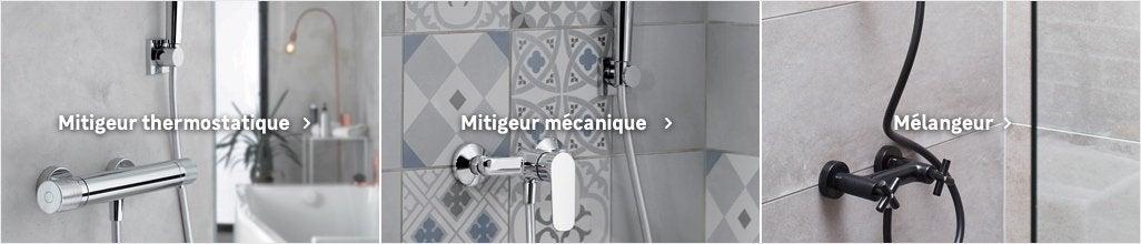 Robinet De Douche Mitigeur Thermostatique Mécanique Au