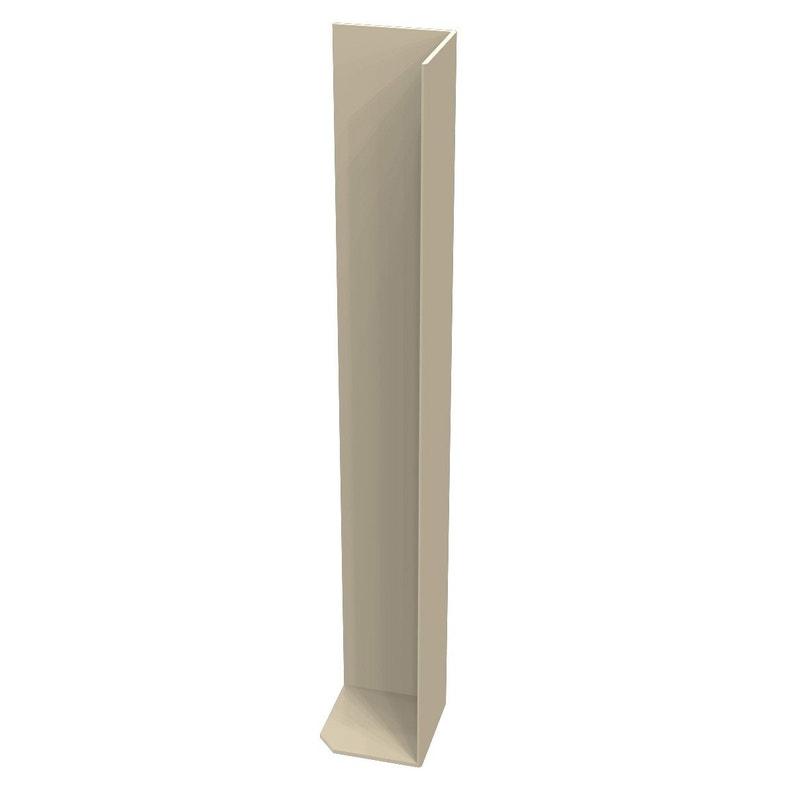Angle Extérieur Pour Bandeau De Rive N50 50sablm Sable Pvc L300 Mm