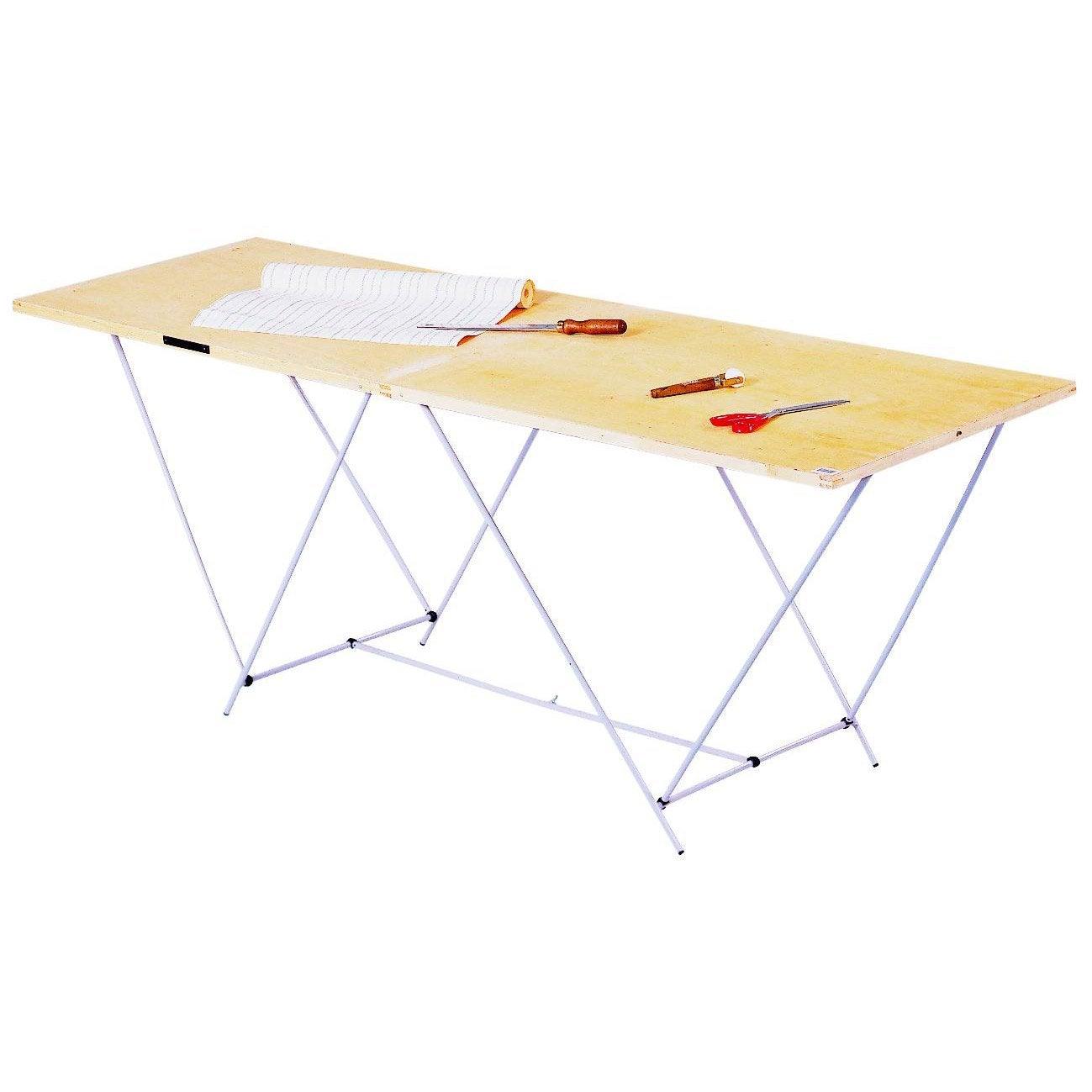 table tapisser pliante ocai 60 cm x 2 m leroy merlin. Black Bedroom Furniture Sets. Home Design Ideas